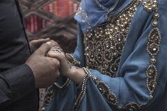 Tunisian marriage Royalty Free Stock Photo