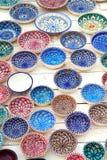 Tunisian plates Royalty Free Stock Photography