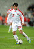 Tunisian player Amine Chermiti Royalty Free Stock Images