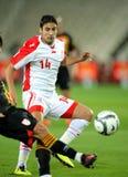 Tunisian player Mejdi Traoui Stock Image