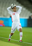 Tunisian player Wissem Ben Yahia Royalty Free Stock Photo