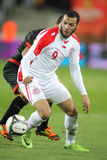 Tunisian player Yassine Chikhaoui Stock Image