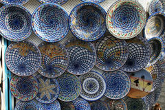 Tunisian pottery Royalty Free Stock Images