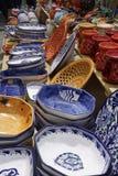 Tunisian pottery Stock Photo