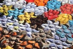 Tunisian pottery. A typical Tunisian ceramics craft Stock Images