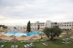 Tunisian resort Royalty Free Stock Images