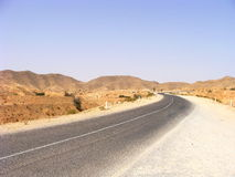 Tunisian road Stock Image