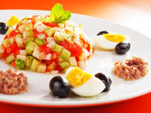 Tunisian salad Royalty Free Stock Photos