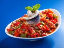 Tunisian salad Royalty Free Stock Photography