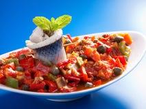 Tunisian salad Royalty Free Stock Images