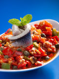 Tunisian salad Stock Image