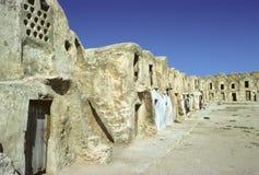 Tunisian storehouses Stock Image