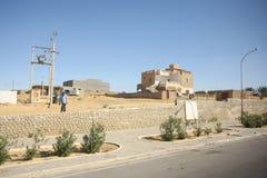 Tunisian street in Tozeur Royalty Free Stock Photos