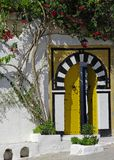 Tunisian traditional gate. Photo taken in Tunisia, north africa Stock Photos