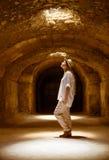 Tunisien El Jem roman apmphitheatre arkivbild