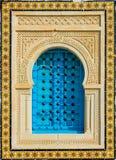 Tunisien fönster Arkivbilder