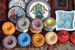 Tunisien krukmakeri Fotografering för Bildbyråer