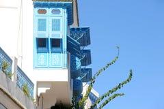 Tunisien. Sidi Bou Said Arkivfoto