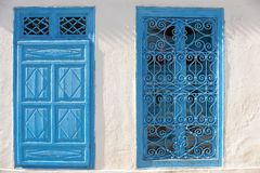 Tunisien. Sidi Bou Said royaltyfri fotografi