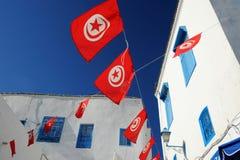 Tunisien. Sidi Bou Said arkivbilder