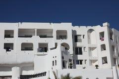 Tunisisk modern arkitektur Arkivbild