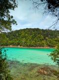 Tunku Abdul Rahman National Park, Borneo, Malasia - Gaya Island imagen de archivo libre de regalías