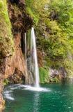 Tunn vattenfall Royaltyfria Bilder