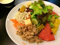 Tunna salad Royalty Free Stock Photo