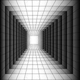 Tunnel à un autre monde. Image libre de droits
