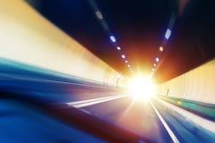 Tunnel-Überfahrt Lizenzfreie Stockfotos