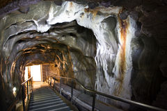 Tunnel. A tunnel from Turda salina Royalty Free Stock Images