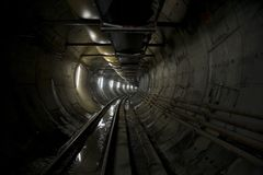 Tunnel photo libre de droits