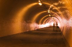 Tunnel Stockfoto