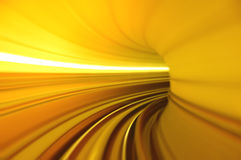 Tunnel. Abstract train moving in tunnel Royalty Free Stock Image