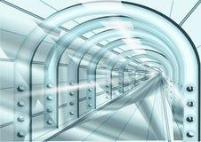 Tunnel illustration libre de droits