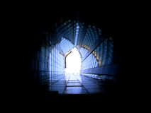 Tunnel. Abstract stock photos