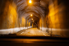 tunnel Royaltyfria Foton