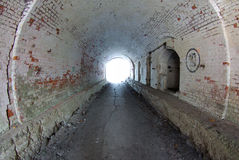 Tunnel. You can see a tunnel royalty free stock photography