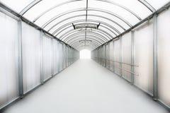 Tunnel aan de toekomst Stock Foto