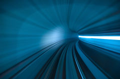 Tunnel abstract Royalty Free Stock Photo