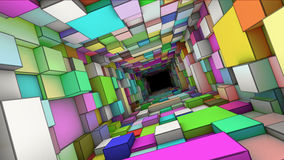 Tunnel abstrait Images libres de droits