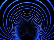 Tunnel abstrait avec la symétrie Illustration de Vecteur
