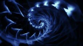 Tunnel abstrait de trou de ver de couleur illustration libre de droits