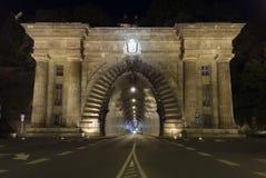 Tunnel Adam-Clark Lizenzfreie Stockfotografie