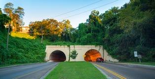 Tunnel al missionario Ridge Immagine Stock