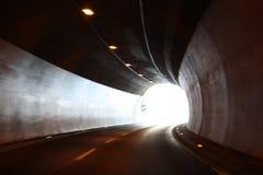 Tunnel in alpi Austria Fotografie Stock Libere da Diritti