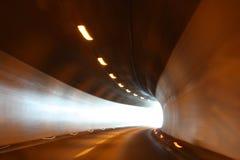 Tunnel in alpi Austria Fotografia Stock Libera da Diritti