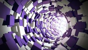 Tunnel Animation stock video
