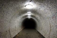 Tunnel antique Images libres de droits