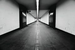 Tunnel in Antwerpen stock afbeeldingen